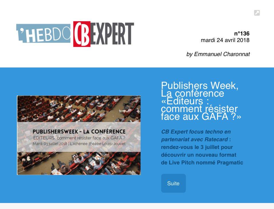 1abecac49a L'HEBDO CB EXPERT – Expertise Médias, Marketing & Digital | CB Expert